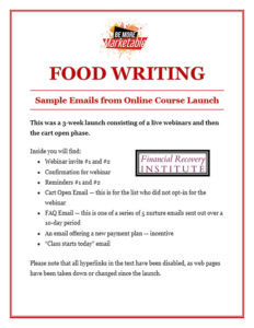 Food-Writing–The-Money-Coach-Course-Launch